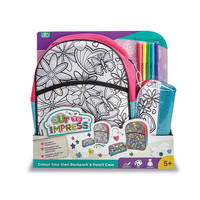 COLOUR YOUR OWN BACKPACK & PENCIL CASE