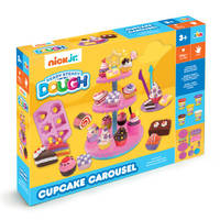 Nick Jr. Ready Steady Dough klei cupcake carrousel