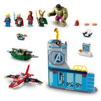 LEGO SH 76152 AVENGERS WRAAK VAN LOKI