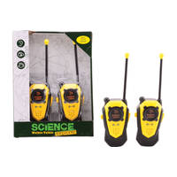 SCIENCE EXPLORER WALKIE TALKIE BEREIK ±