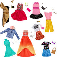 Barbie modepoppenkleding - fashion verrassingsset