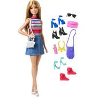 Barbie pop en schoenen assortiment