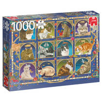PC FRANCIEN - CAT HOROSCOPE 1000PCS