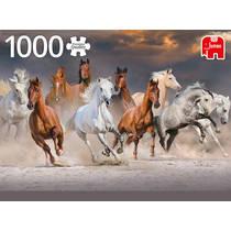 Jumbo puzzel paarden in de woestijn - 1000 stukjes