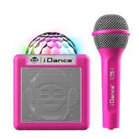 iDance party Bluetooth speaker met licht Sing Cube 100