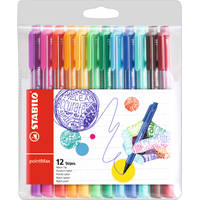 STABILO pointMax fineliners set 12-delig