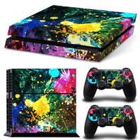PS4 skin Color Splash