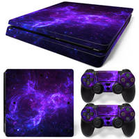 PS4 Slim skin Dark Galaxy