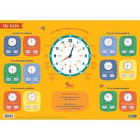 Educatieve onderlegger De klok