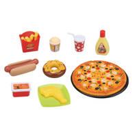 Pizza fast food set