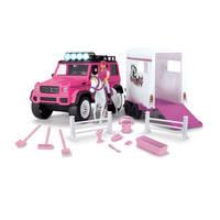 Dickie Toys paardentrailer - roze