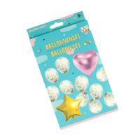 Ballonnen in eenhoorn stijl set 12-delig