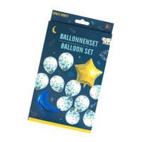 Ballonnen in ruimte stijl set 12-delig