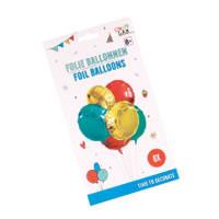 Ballonnen in party stijl set 6-delig