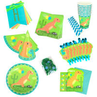 Dino partybox 8-delig