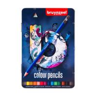 Bruynzeel kleurpotloden - 12 stuks - donker blik