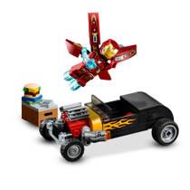 LEGO SH 76167 IRON MAN WAPENKAMER