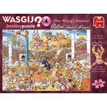 Jumbo Wasgij Retro Destiny 4 puzzel De Wasgij Spelen - 1000 stukjes