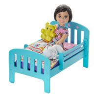 BARBIE SKIPPER BABYSITTER SPEELSET - BED