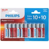 Philips LR6-AA batterijen set 20-delig