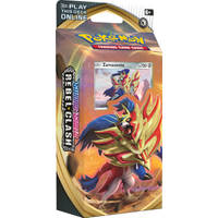 Pokémon TCG Sword & Shield Rebel Clash Zamazenta themadeck