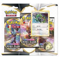 Pokémon TCG Sword & Shield Rebel Clash 3-boosterblister