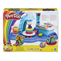 Play-Doh regenboogcake feestje