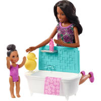 BARBIE - SKIPPER BABYSITTERS DOLL AND P