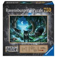 Ravensburger puzzel Escape 7 de roedel wolven - 759 stukjes
