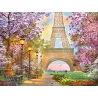 PUZZEL VERLIEFD IN PARIJS 1500ST