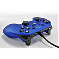STEELPLAY WIRED CONTROLLER METALLIC BLUE