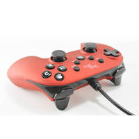 STEELPLAY WIRED CONTROLLER METALLIC RED