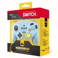 Steelplay Neo Retro controller - blauw