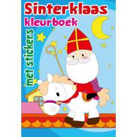 Sinterklaas kleur- en stickerboek