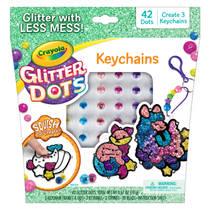 Glitter Dots dierenvriendjes sleutehangers