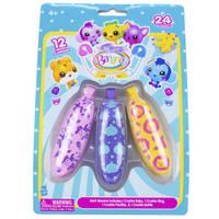Baby Bananas crushies - 3-pack - roze/blauw/geel