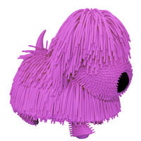 Jiggly Pup knuffel - paars