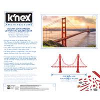 K'NEX ARCHITECTURE: GOLDEN GATE BRIDGE
