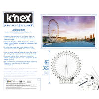K'NEX ARCHITECTURE: LONDON EYE