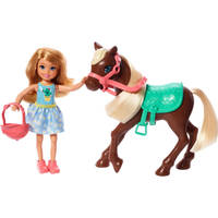 Barbie Chelsea pop en pony speelset