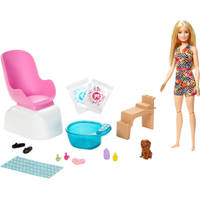 Barbie mani pedi speelset