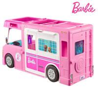 Barbie 3-in-1 droomcamper met accessoires