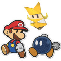 NSW PAPER MARIO ORIGAMI KING