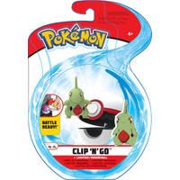 Pokémon Clip 'N' Go Wave 6 Larvitar en Premier Ball