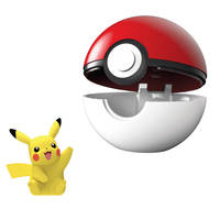 Pokémon Clip 'N' Go Wave 6 Pikachu en Poké Ball