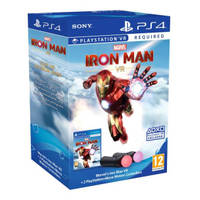 PS4 Marvel's Iron Man VR + PS Move controllers