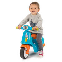 SMOBY BLAUWE SCOOTER