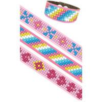 Diamond Dotz Dotzies armbandenset 3-delig - roze