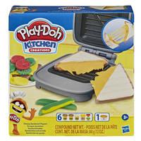 Play-Doh boterham met kaas