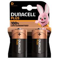 Duracell Alka Plus D-batterijen set 2-delig